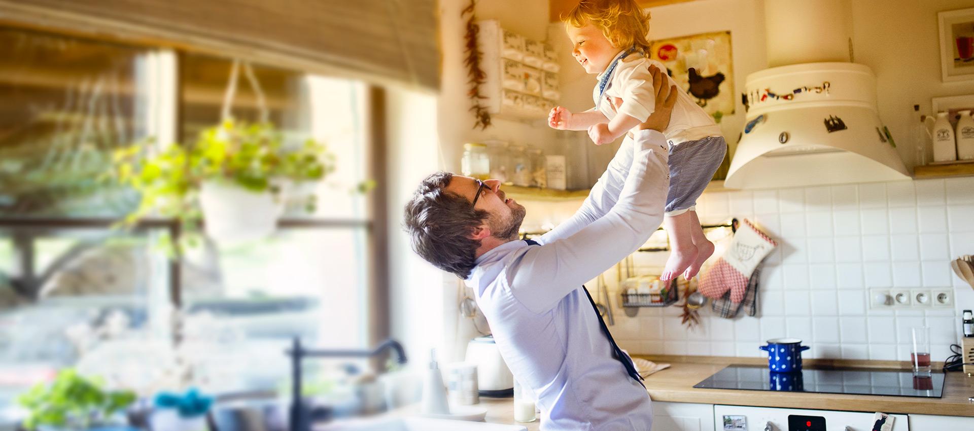 Pensionen mit Küchenbenutzung